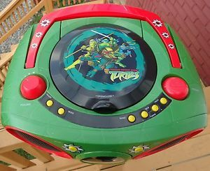 Teenage Mutant Ninja Turtle Radio CD Player Radio Boombox CD Don'T Play
