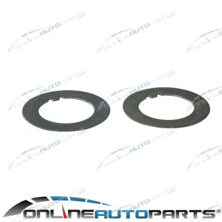 2 x Front Stub Axle Nut Wheel Bearing Lock Washer Tab GQ Y60 Nissan Patrol 4x4