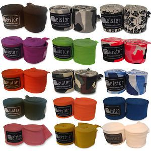 "Meister MMA 180"" Handwraps All Colors Boxing Hand Wraps"