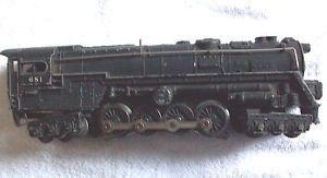 Lionel Train Locomotive Engine 681 6 8 6 0 027 Die Cast Metal