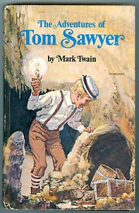Book Whitman Publishing Tom Sawyer by Mark Twain 1603 Copyright Is MCMLV