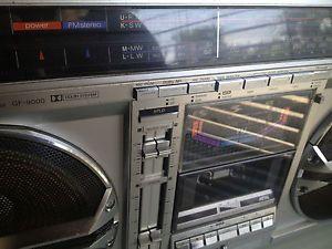 Sharp GF 9000 Boombox Ghetto Blaster Stereo Cassette Radio