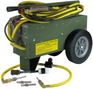 Aircraft Turbine Jet Engine Power Washer Wash de Ice Unit Hydraulic Technology