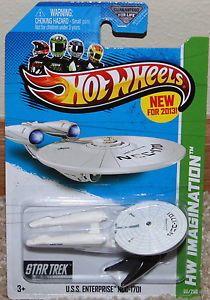 2013 Hot Wheels Star Trek USS Enterprise NCC 1701 60 250