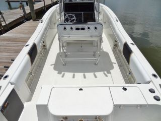 2001 Hydra Sports 2796 Vector CC Offshore Saltwater Sport Fishing Boat Twin 250
