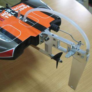 New Genesis Brushless Electric Fiberglass Speed Boat RC Racing Catamaran Artr