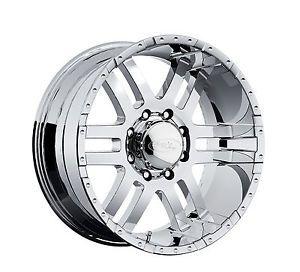 "CPP American Eagle 079 Wheels Rims 18x9"" Fits Chevy GMC 2500 2500HD Duramax"