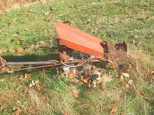 Antique Vintage Gravely Walk Behind Mower for Parts