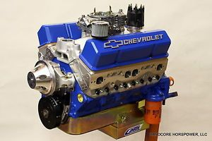 Small Block Chevy Engine 415CI 600 HP Pro Street Complete Built to Order