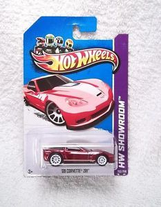 2013 Hot Wheels Super Treasure Hunt '09 Corvette ZR1 TH