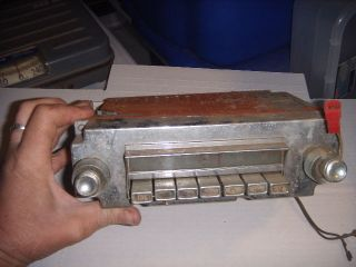 Antique Mopar Car Radio Antique Old Vintage Dodge Plymouth Chrysler Rat Rod