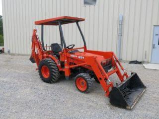 Kubota B21 4x4 Tractor Loader Backhoe 177 Hours Immaculate