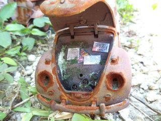 1 18 VW Beetle Bug EX Kafer Polizei Unrestored Junker Diorama Demolition Derby