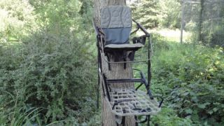Lone Wolf Sit and Climb Alpha Climber Tree Stand