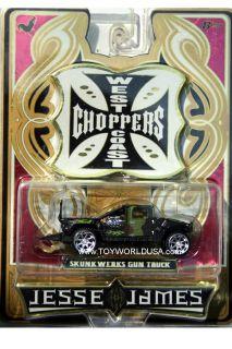 2006 Jesse James West Coast Choppers Skunk Werks Gun Truck Black