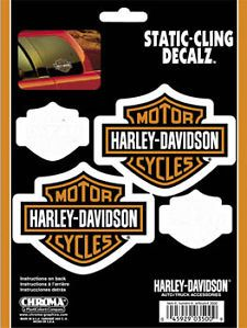 Harley Davidson Decal Chroma Graphics 3500