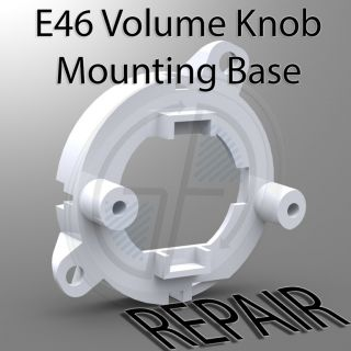 BMW E46 CD53 Business CD Player Radio Volume Knob Control Button Repair DIY