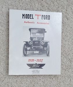 Model T Ford Authentic Accessories 1909 1927 Volume 1 Book by J L Kenealy 1978
