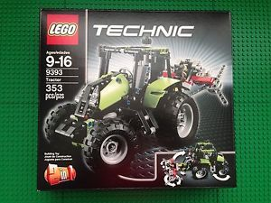 Lego Technic Tractor Buggy 2 in 1 9393 New MISB Working Piston Engine 673419166966