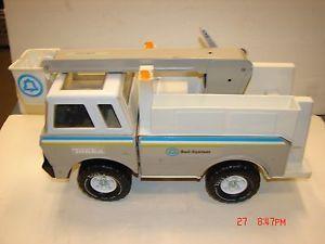RARE Large Tonka Bell Telephone System Bucket Truck 1978 Vintage Utility Service
