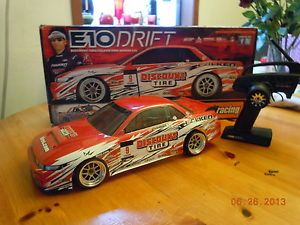 HPI E 10 E10 R C Drift Car Falken Discount Tire Nissan AWD