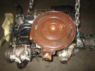 Nissan 720 D21 Pickups Pick Up JDM SD23 Diesel Non Turbo Engine Manual Trans