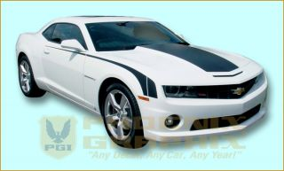 2010 2011 2012 2013 Camaro LS Lt RS SS Super Rally Sport Decals Stripes Kit