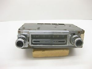 1964 1965 1966 Chevrolet Truck Am Radio Good Appearance 1963 1962 Possibly