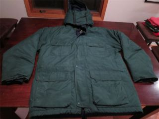 Eddie Bauer Mens Ridgeline Goretex GOOSE Down Puffer Ski Winter Jacket Coat Sz M