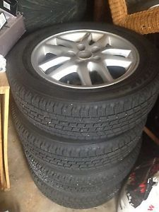 Toyota Camry 16' 69384 24402 Wheels with Bridgestone Blizzak Snow Tires