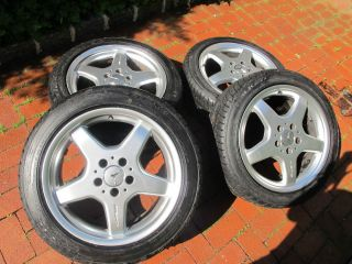 Mercedes Benz AMG Wheels with Falken Tires