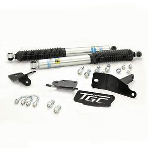 TGC 03 13 Dodge RAM 2500 3500 Dual Steering Stabilizer with Bilstein