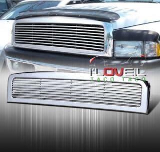 94 95 96 97 98 99 00 01 Dodge RAM 1500 Billet Front Upper Chrome Grille Grill