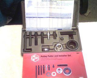 KD Tools Power Steering Pump Pulley Puller Installer GM Ford Chrysler KDT2897