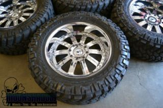 """GM Hummer H2 asanti AF 134 22"""" Wheels with Nitto Trail Grappler Tires 37 13 5 22"""