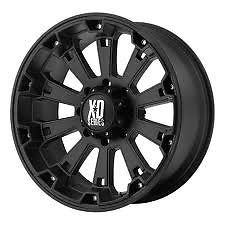 "XD Misfit 17"" Wheels w 35 12 50 17 Nitto Tires"