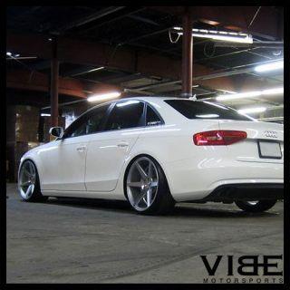 """20"""" Stance SC6 Silver Concave Wheels Rims Fits Audi C7 A6"""