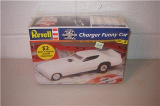 RMX 85 2989 Model Kit Dodge Hemi Charger Funny Car 1 25 Scale Factory SEALED