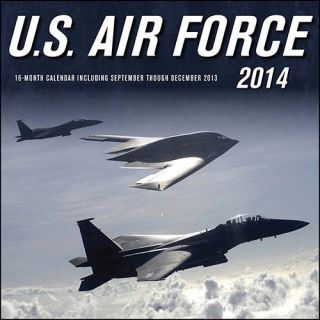 U s Air Force 2014 Wall Calendar 0760345090