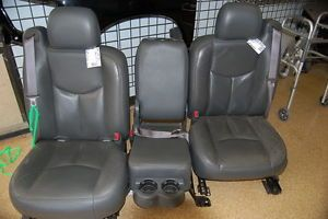 2003 2006 Chevy Silverado Sierra Leather Truck Seats