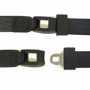1973 1979 Chevy GMC Truck 2 Point Black Lap Seat Belt