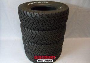 4 Used 275 70 16 BFG All Terrain T A KO Tires 70R R16