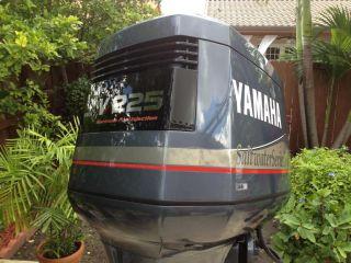 Beautiful 2000 yamaha 150 hp saltwater series ii ox66 fuel for Yamaha saltwater series ii