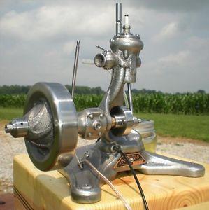 Gas Engine Model Hit Miss Steam Toy Hemi Motor Harley Old Vintage Ford Antique