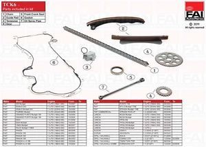 Timing Chain Kit for Fiat Linea 323 1 3 D Multijet 06 07 ATCK6 2296