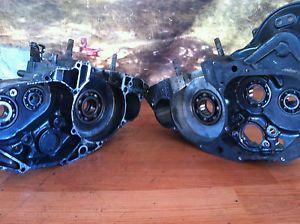 1985 1986 Honda 250R ATC TRX Engine Motor Cases Right and Left Halves Nice