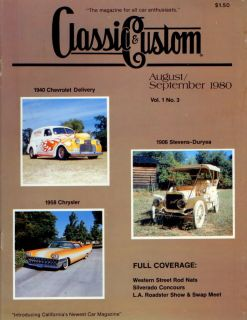 Classic Custom Rat Hot Rod Magazine Vintage Street Flathead 1932 Ford Chevy