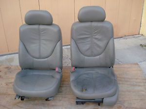 Power Driver Bucket Seats Jimmy Sonoma Chevy S10 Truck Blazer Need Recovered