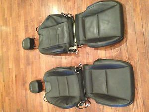 2013 Camaro SS Factory Leather Seat Covers w Head Rest
