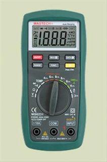 New Engine Analyzer MS6231 Dwell Car Diagnostic Tool Tach Temp Engine Tester Aut
